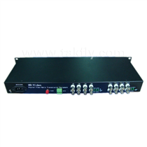 16 channel 1080P AHD&CVI&TVI Video Fiber Transmission