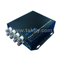 8 channel 1080P AHD&CVI&TVI Video Fiber Transmission