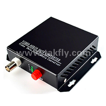 1 channel Video Digital Optical Converter with single fiber
