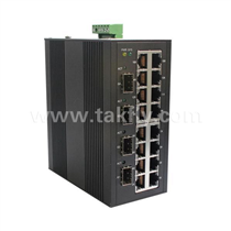 10/100m Din-Rail Mount Industrial Ethernet Switch