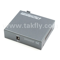 4 Port Fiber Switch 10/100 RJ45 to 1 Fiber Port, Multimode 2Km