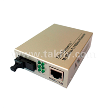 10/100Base-TX to 100Base-FX with LFP Fiber Optic Media Converter