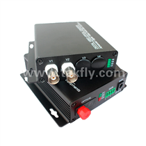 2 channel Video Digital Optical Converter with single fiber