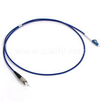 SC/FC/ST/LC Simplex Single Mode Armored 3.0mm Fiber Optic Patch Cord
