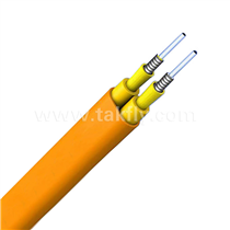 Flat Twin Duplex Military Tactical Armored Indoor Cable