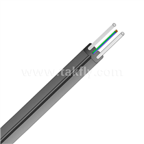 1-4 Core Fiber Optic Indoor drop cable without messenger(GJX(F)H)