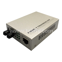 10/100M fiber media converter ST interface
