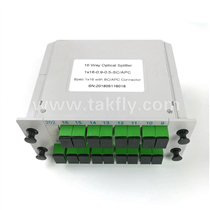 1X16 LGX Type Fiber Optic PLC Splitter