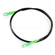 SC-SC FTTH Flat Drop Cable Fiber Optic Patchcord