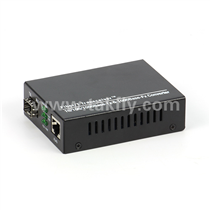 10-100-1000M Media converter External power-Support 9K(SFP Port)Promotion Type